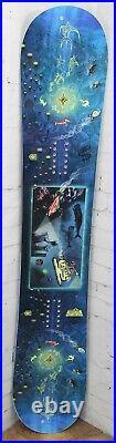 GNU Finest Men's Snowboard 157 cm, Asym Twin by Max Warbington New 2021
