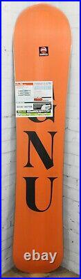 GNU T2B Men's Wide Snowboard Size 158W cm, Directional, Orange Base, New 2021