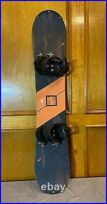 HEAD ROCKA 4D 158cm Wide Snowboard withTechnine Bindings Size Large Fast Shipping