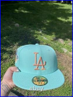 Hat Club Exclusive Mint Sugar Shack LA Dodgers 1959 All Star Game Patch 7 3/8