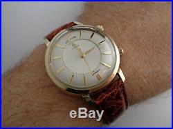 Jaeger Lecoultre Jumbo Memovox Alarm Wristwatch, All Original, mint, best offer