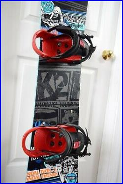 K2 Vandal Size 142 CM With Medium Burton Bindings