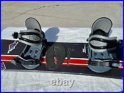 Kids Youth Lamar Snowboard Speedway 132cm Lamar Small Bindings