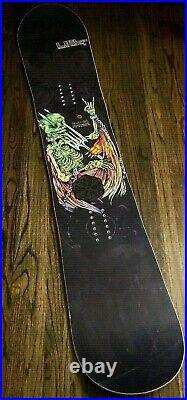 Lib Tech Banana Traction Skunk Ape 162 Snowboard Devil Pitchfork Naked Angel USA