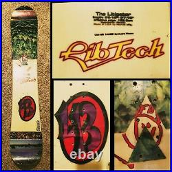 Lib Tech Snowboards The Litigator 1997 170 cm Rare LTD