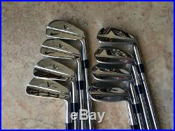 MINT All Original Nike VRII Pro 3-PW Irons Tour Issue Dynamic Gold X100