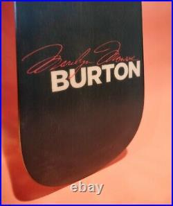 Marilyn Monroe Burton 151 Custom Brand New Original Stickers and Sleeve