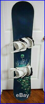 Marker Full Snowboard With Athalon Bag Size 143 CM With Median Liquid Bindings