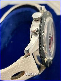 Mathey-Tissot 70s Chronograph Valjoux 72 Mens All Original Rare Swiss Watch Mint