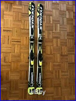 Men's 2017 Stockli All Mountain Laser AX Skis With Head PRX Bindings, 167 cm