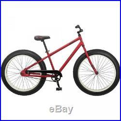 Men's Beach Cruiser Bicycle Fat Tire Mountain All-Terrain Off Road 26 Inch Bike