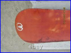 Men's K2 AMBUSH Snowboard 160cm Kemper Large Bindings Nice Board