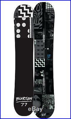 Mens BURTON Amplifier 150 Snowboard Versatile All-Mountain Twin Flat Top Rocker
