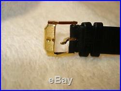 Mint Movado 87-40-882N Ultra Thin All Black Men's 31mm Case Swiss Watch