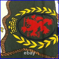 Mint VTG 90s Rare Tommy Hilfiger Big Logo All Over Print Flag Button Up Sz XL