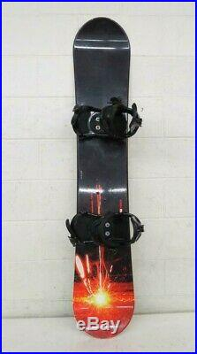 Morrow Torch 153cm Twin-Tip All-Mountain Snowboard withSIMS Bindings EXCELLENT