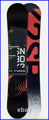 NEW! 2020 K2 Standard Mens Snowboard 158cm In Plastics Still