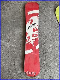 Never Summer Cobra 155 Snowboard Excellent Condition