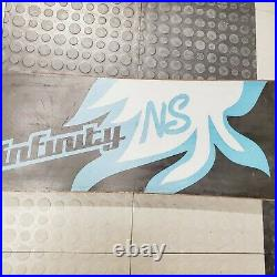 Never Summer Infinity Snowboard 156cm Board Only Genuine Authentic No Bindings
