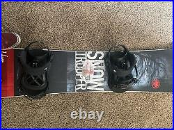 Never summer snowboard used