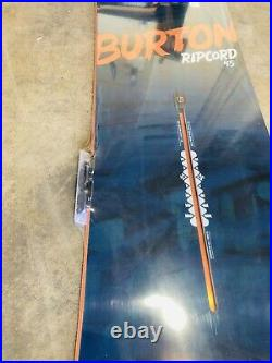 New Burton Ripcord Mens Snowboard 145 145cm