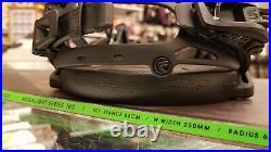 Nidecker MEGALIGHT Series 160 Snowboard Package with Flow Fuse Bindings RARE