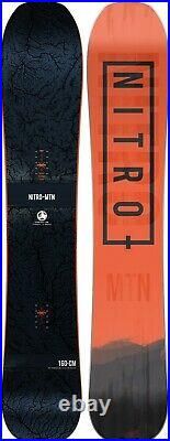 Nitro MTN All Mountain Men's Directional Snowboard 160 cm New 2021