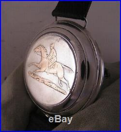 One of a Kind ALL Original Swiss L. Benoit CHAUX-DE-FONDS 1870 Wrist Watch MINT