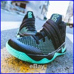 RARE Mens Nike Kyrie 2 Green Glow 10 Black 1 3 4 5 V IV All Star bhm ii mint