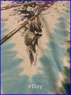 RARE VTG 1996 Liquid Blue Grateful Dead Skiing Mountain All Over T-Shirt XL USA