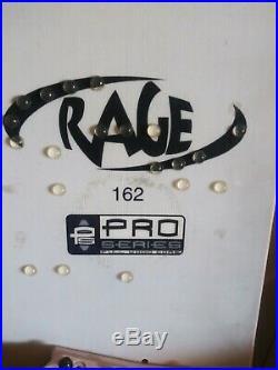 Rage PS pro series Custom flying v Snowboard 162cm like Burton
