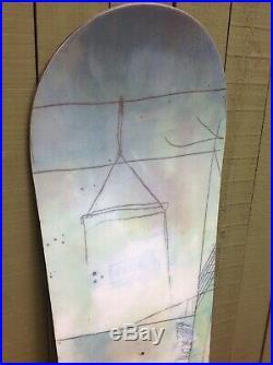 Rare Burton Seven 158 cm Snowboard All Mountain Freestyle Raven Base