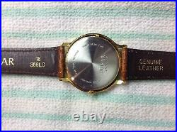 Rare Pulsar By Seiko Mens Moonphase Watch In (mint) Shape All Original