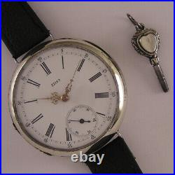 Remarkable ALL ORIGINAL Cylindre 32189 160 Years Old Swiss Wrist Watch MINT