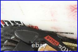 Ridge Control Snowboard Size 158 CM With Large Ridge Bindings
