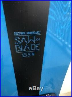 Rossignol Sawblade 155cm Lightly Used Snowboard with NEW Nidecker Large Bindings