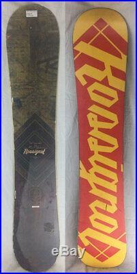 Rossignol Templar Magtek Wide 153 cm Snowboard All Mountain USED