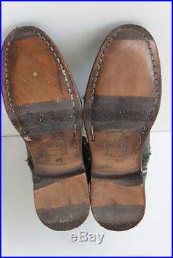 Rws Boots Ankle Mens all Leather Hand Made Numbered 43 Mint Condition