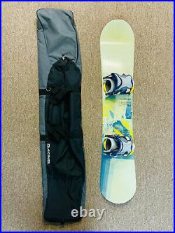 Salomon Transfers Wide Snowboard 156 with Flow Bindings L with travel bag