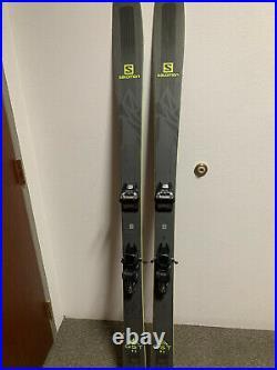 Salomon skis with bindings
