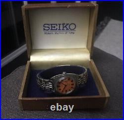 Seiko 1969 Chorus 2118 0310 Very Rare All Original As New Mint With Box