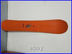 Snowboard, Burton, The 152, orange, Great shape, Terje haakonsen vintage board