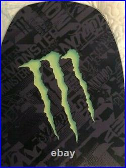 Snowboard Monster-Beast, Black & Monster Green. NEW, NEVER USED. Limited ed