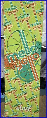 Snowboard RARE 152CM Mello Yello Soft Drink Promotional Board