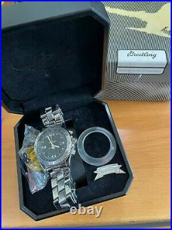 Superb Breitling B-1 mint condition complete with box and all papers