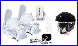 Symbolic Flow-Ride Snowboard Bindings+Stomp+Leash+Burton Helmet Package Large XL
