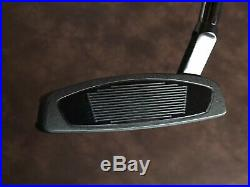 TaylorMade My Spider X 35 All Black Slant Neck Putter SS Grip with Cover MINT