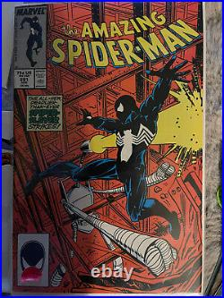 The Amazing Spider-Man 290-297 And KEY ISSUE 299! All In Near Mint Condition