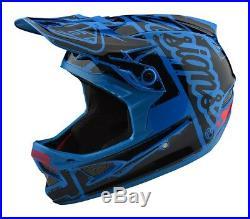 Troy Lee Designs 2018 Bike D3 Fiberlite Helmet Factory Ocean Adult All Sizes