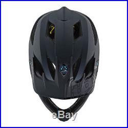 Troy Lee Designs Stage MIPS MTB Helmet Stealth Black Adult All Sizes
